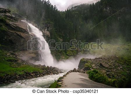 Krimml Waterfalls clipart #20, Download drawings