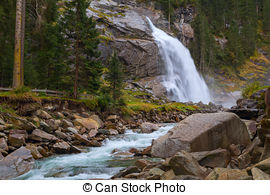 Krimml Waterfalls clipart #12, Download drawings
