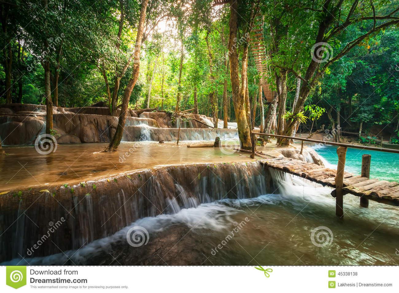 Kuang Si Waterfall clipart #8, Download drawings