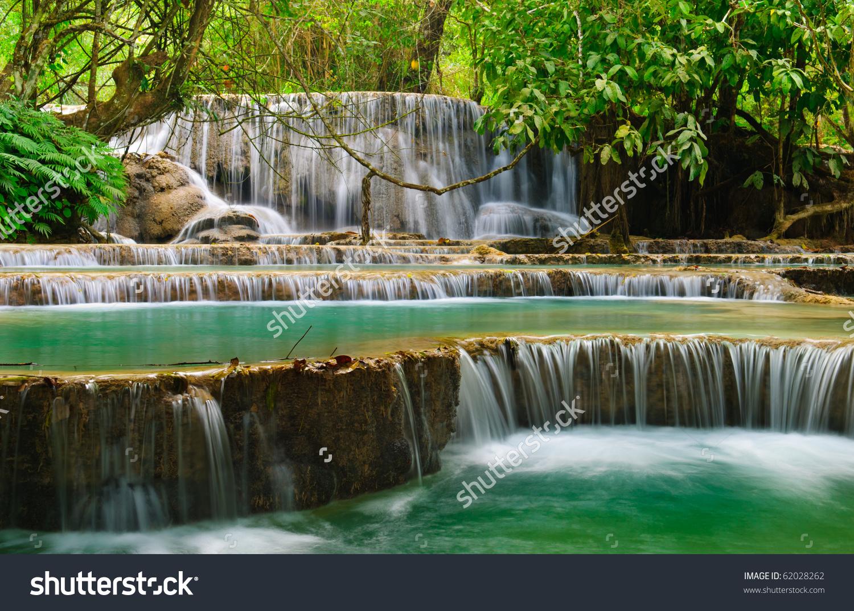 Kuang Si Waterfall clipart #6, Download drawings
