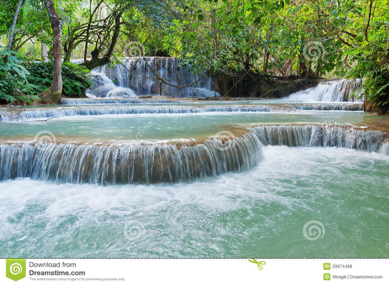 Kuang Si Waterfall clipart #16, Download drawings