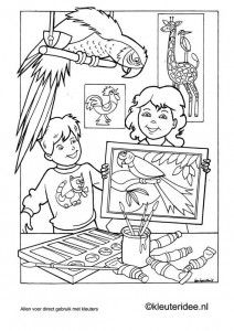 Kunst coloring #17, Download drawings
