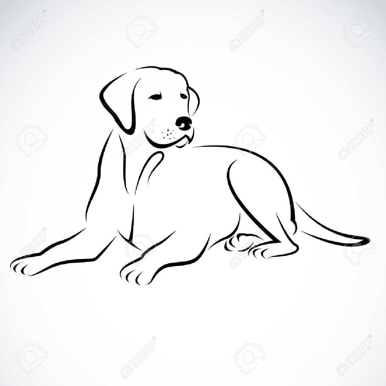 Labrador clipart #5, Download drawings