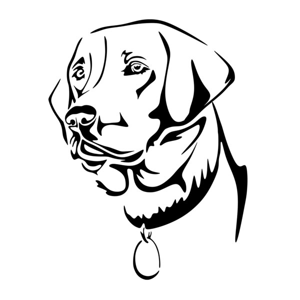 Labrador svg #2, Download drawings