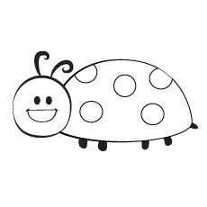 Ladybug coloring #12, Download drawings