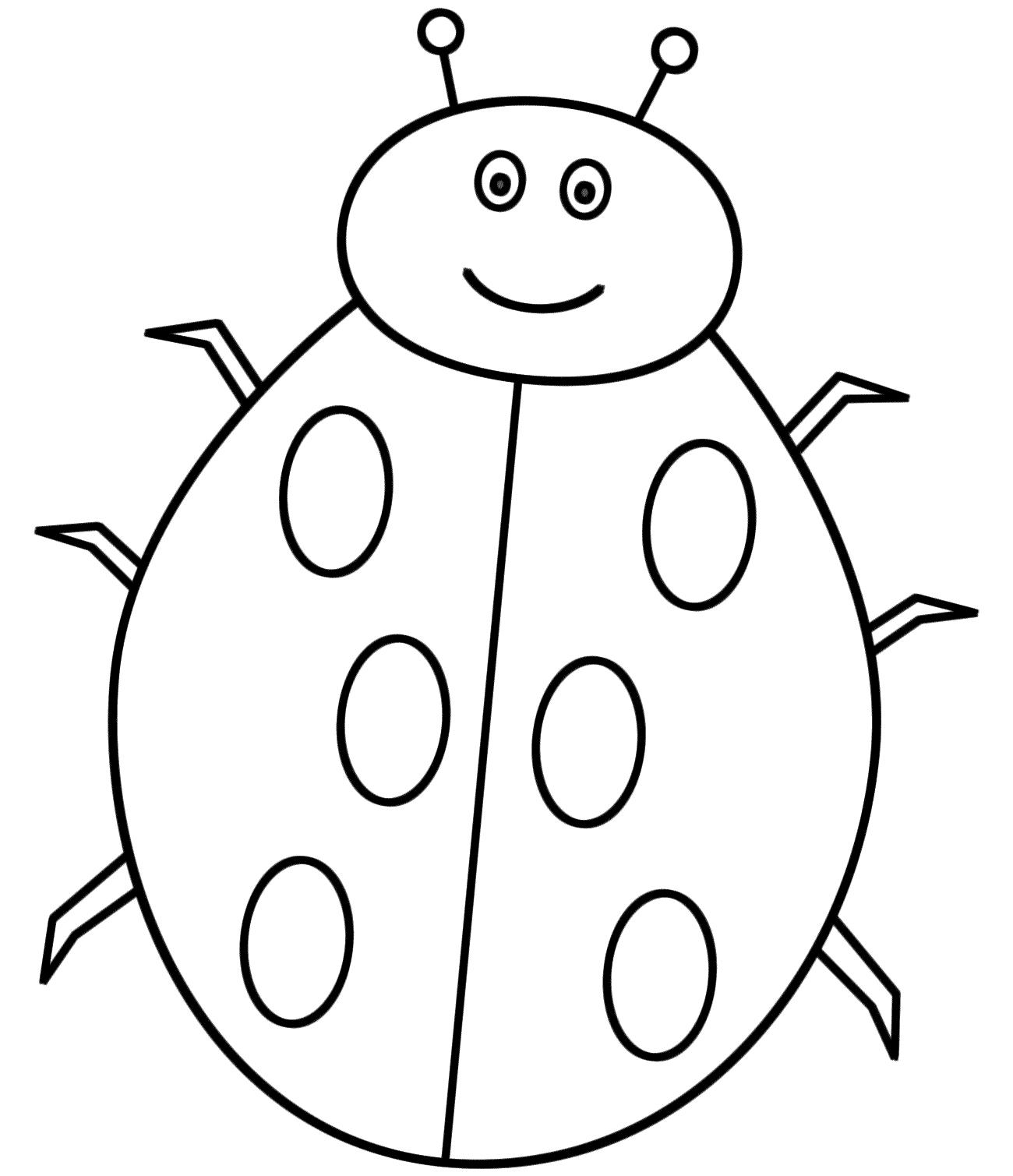 Ladybug coloring #13, Download drawings