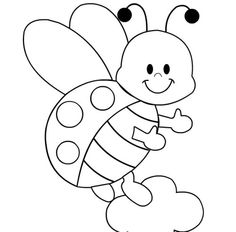 Ladybug coloring #18, Download drawings
