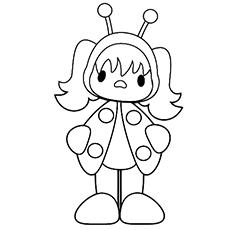 Ladybug coloring #2, Download drawings