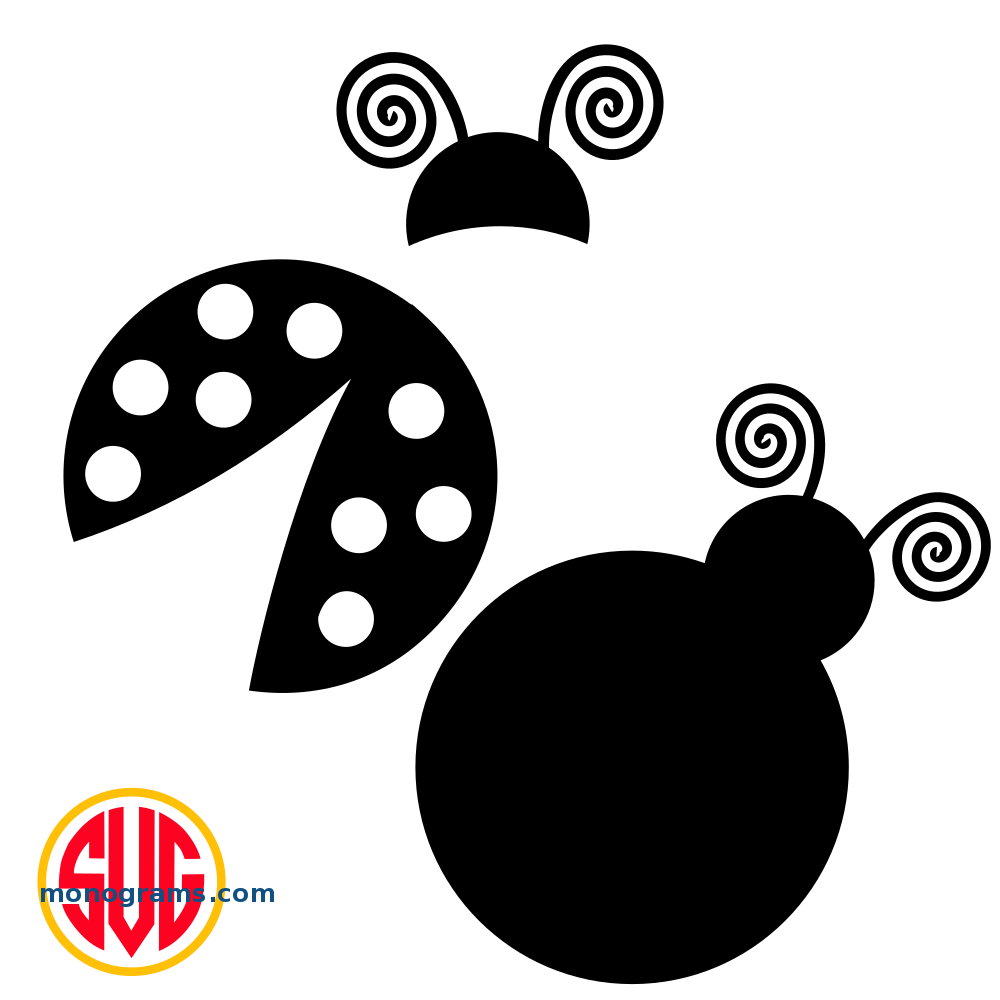 Ladybug svg #7, Download drawings