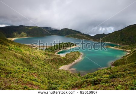 Lagoa Do Fogo clipart #1, Download drawings
