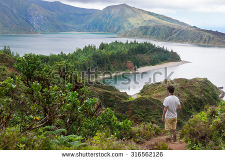 Lagoa Do Fogo clipart #2, Download drawings