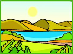 Lake clipart #10, Download drawings
