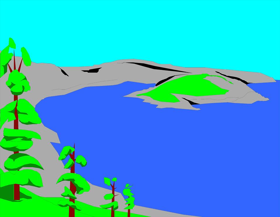Lake clipart #2, Download drawings