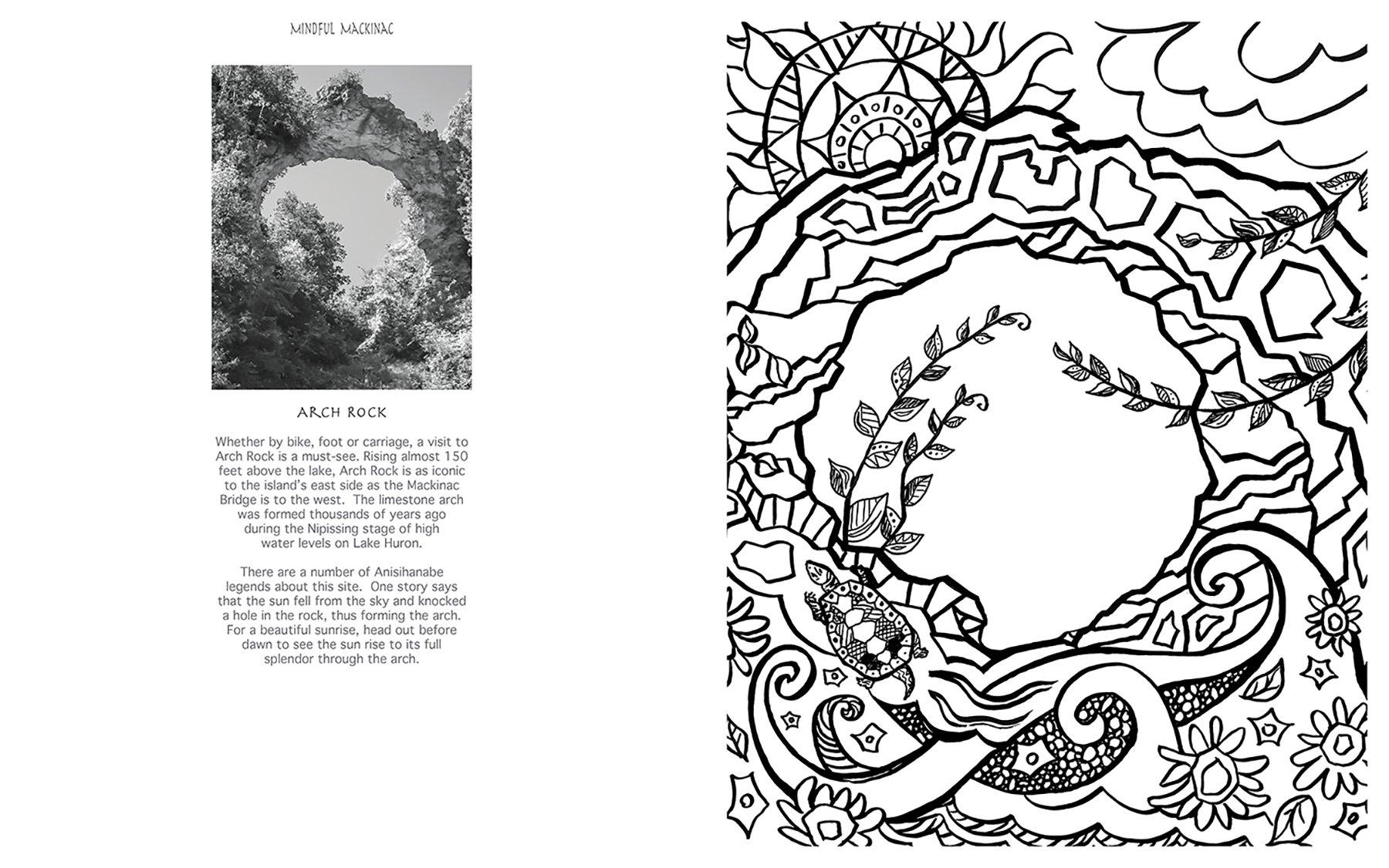 Lake Huron coloring #7, Download drawings