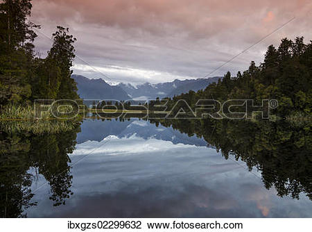 Lake Matheson clipart #20, Download drawings