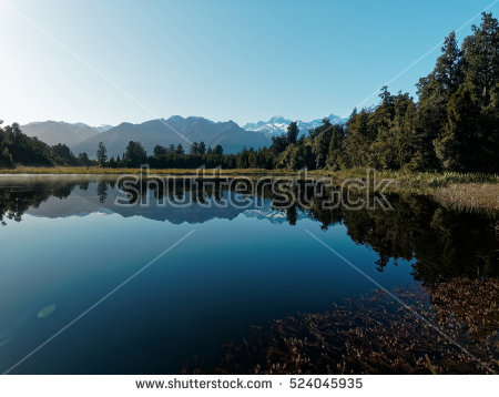 Lake Matheson clipart #1, Download drawings