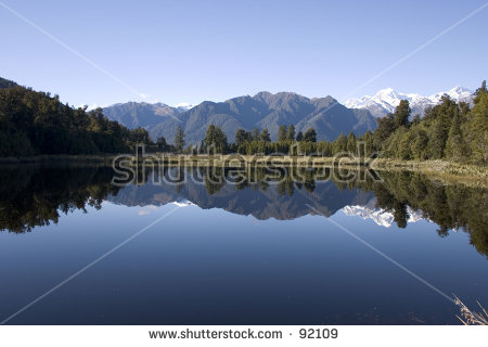 Lake Matheson clipart #2, Download drawings