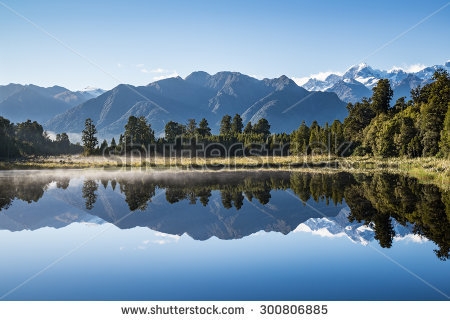Lake Matheson clipart #15, Download drawings