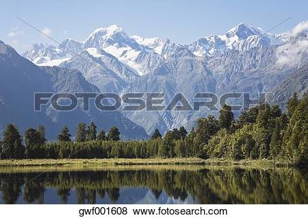Lake Matheson clipart #17, Download drawings