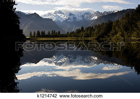 Lake Matheson clipart #16, Download drawings
