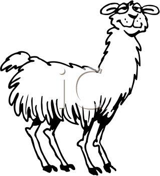 Lama clipart #7, Download drawings