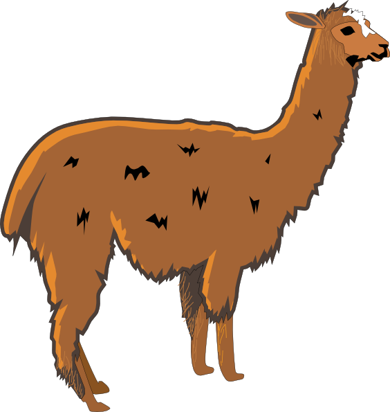 Lama svg #13, Download drawings