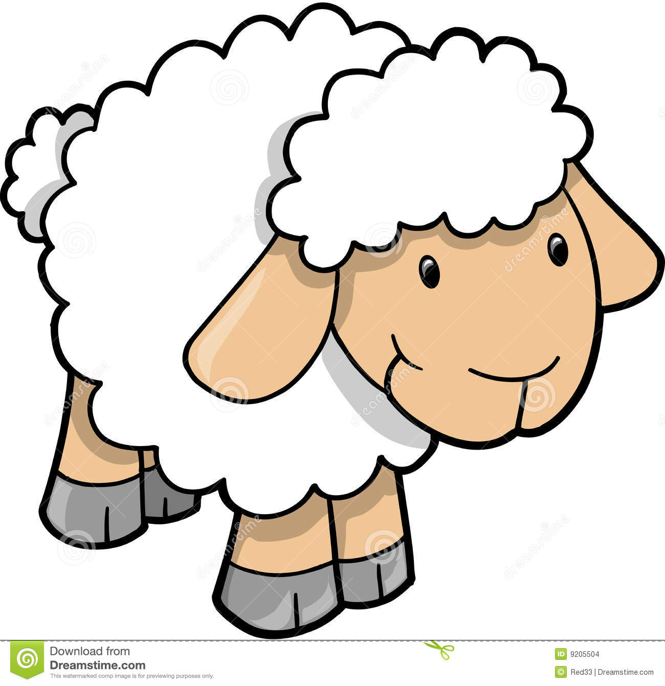 Sheep clipart #5, Download drawings