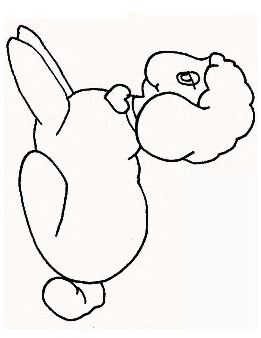 Lamb coloring #1, Download drawings