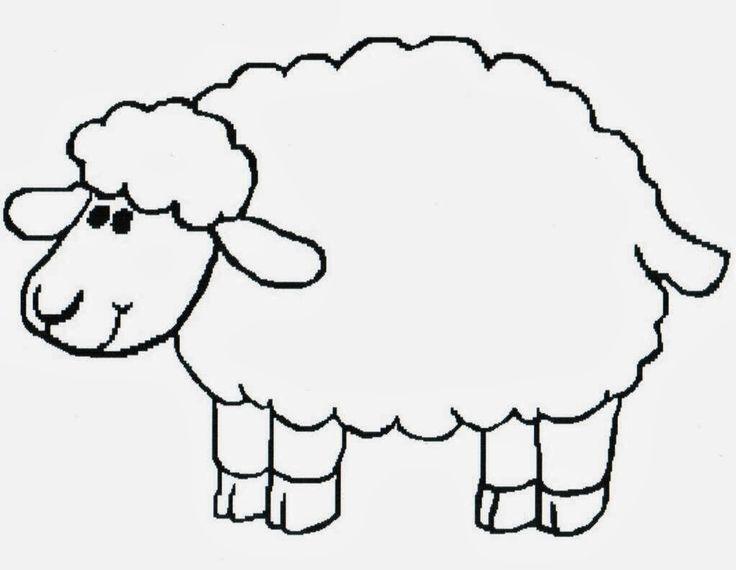 Lamb coloring #11, Download drawings