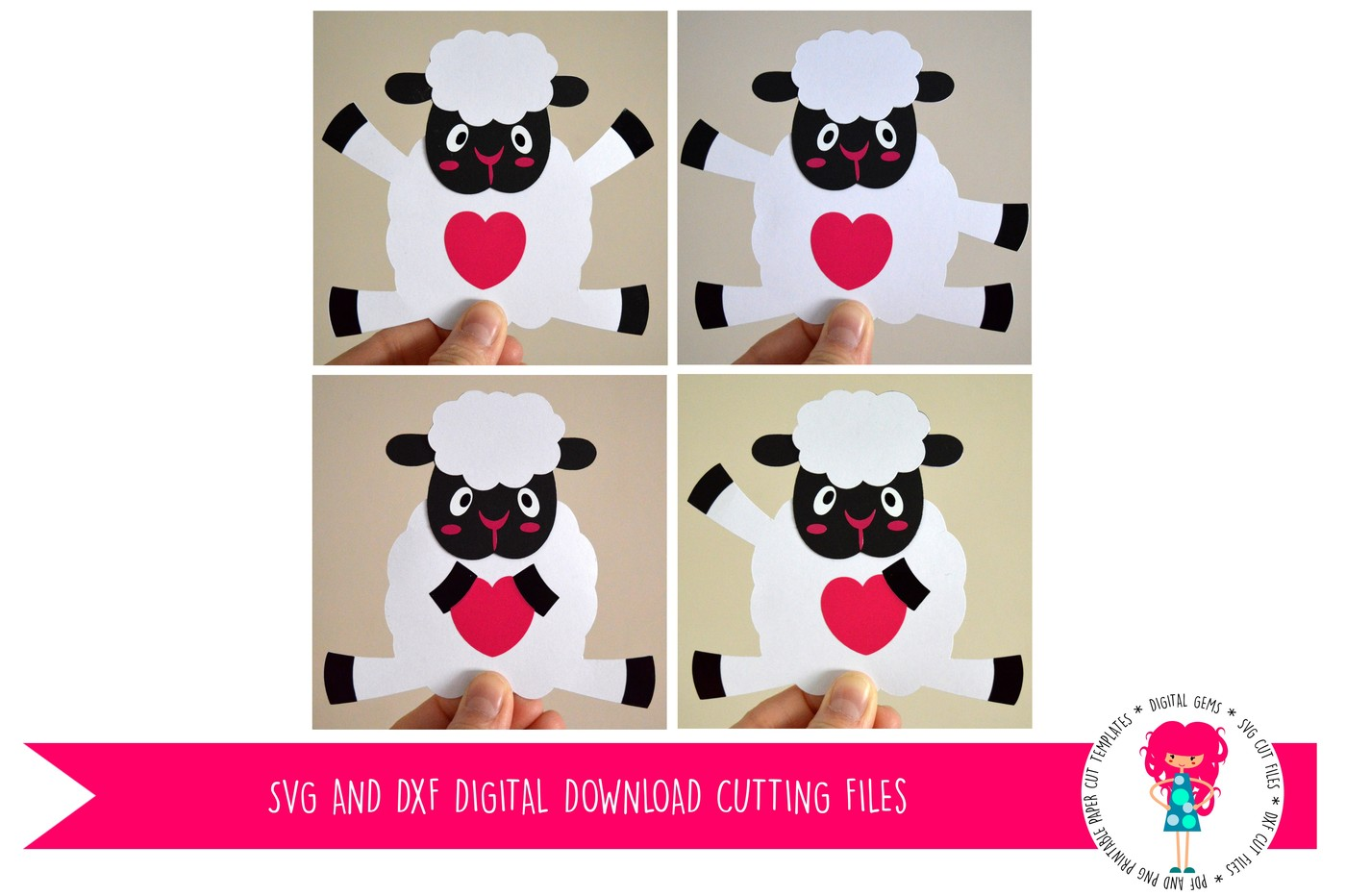 Lamb svg #3, Download drawings