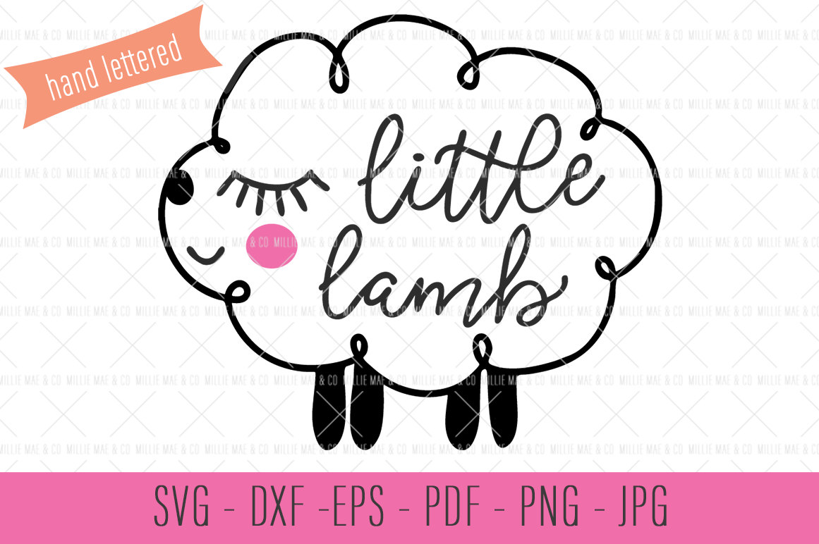 Lamb svg #8, Download drawings