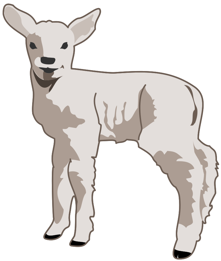 Lamb svg #1, Download drawings