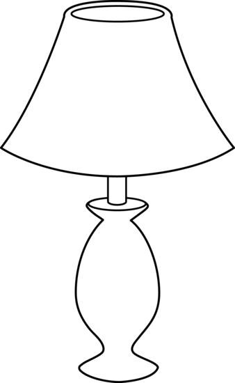 Lamp coloring #10, Download drawings
