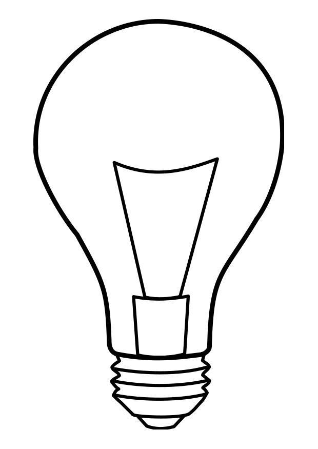 Lamp coloring #4, Download drawings