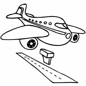 Landing coloring #3, Download drawings