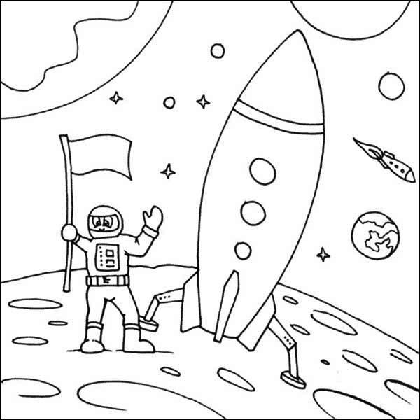 Landing coloring #7, Download drawings