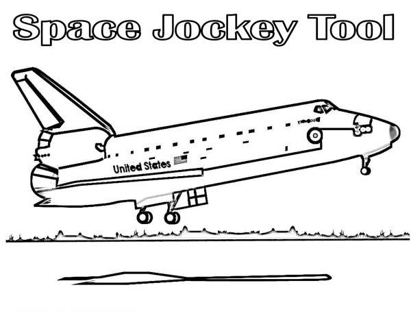 Landing coloring #11, Download drawings