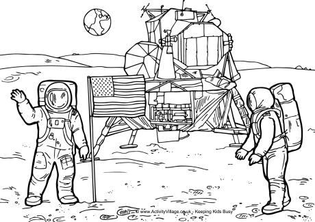 Landing coloring #5, Download drawings