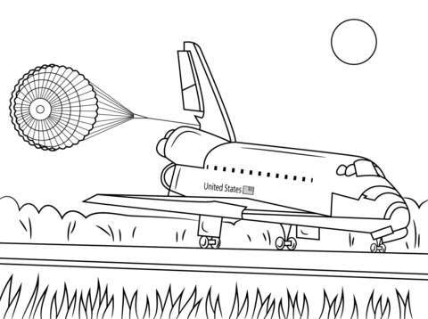 Landing coloring #6, Download drawings