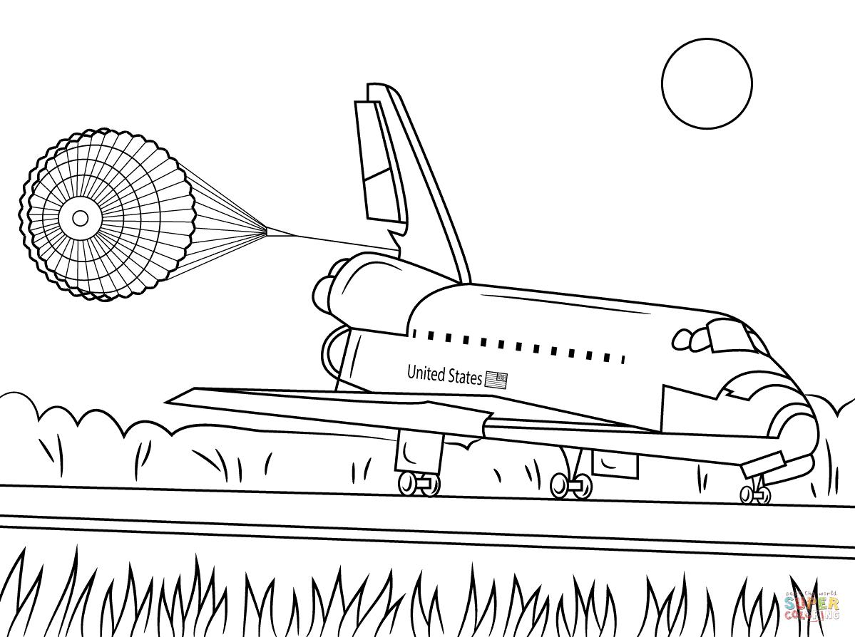 Landing coloring #18, Download drawings