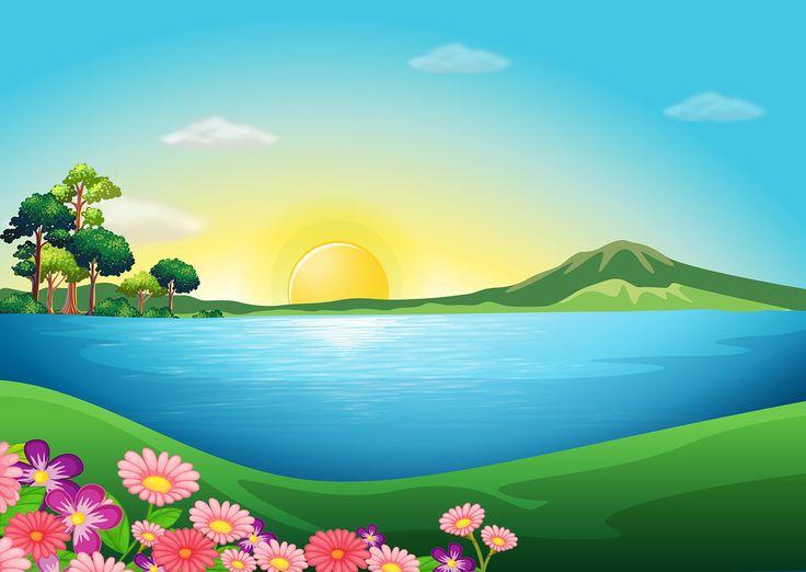 Landscape clipart #15, Download drawings