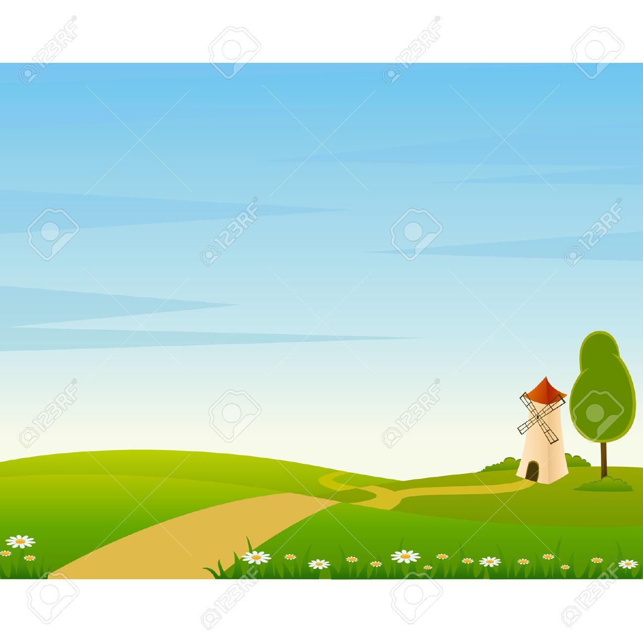 Landscape clipart #7, Download drawings