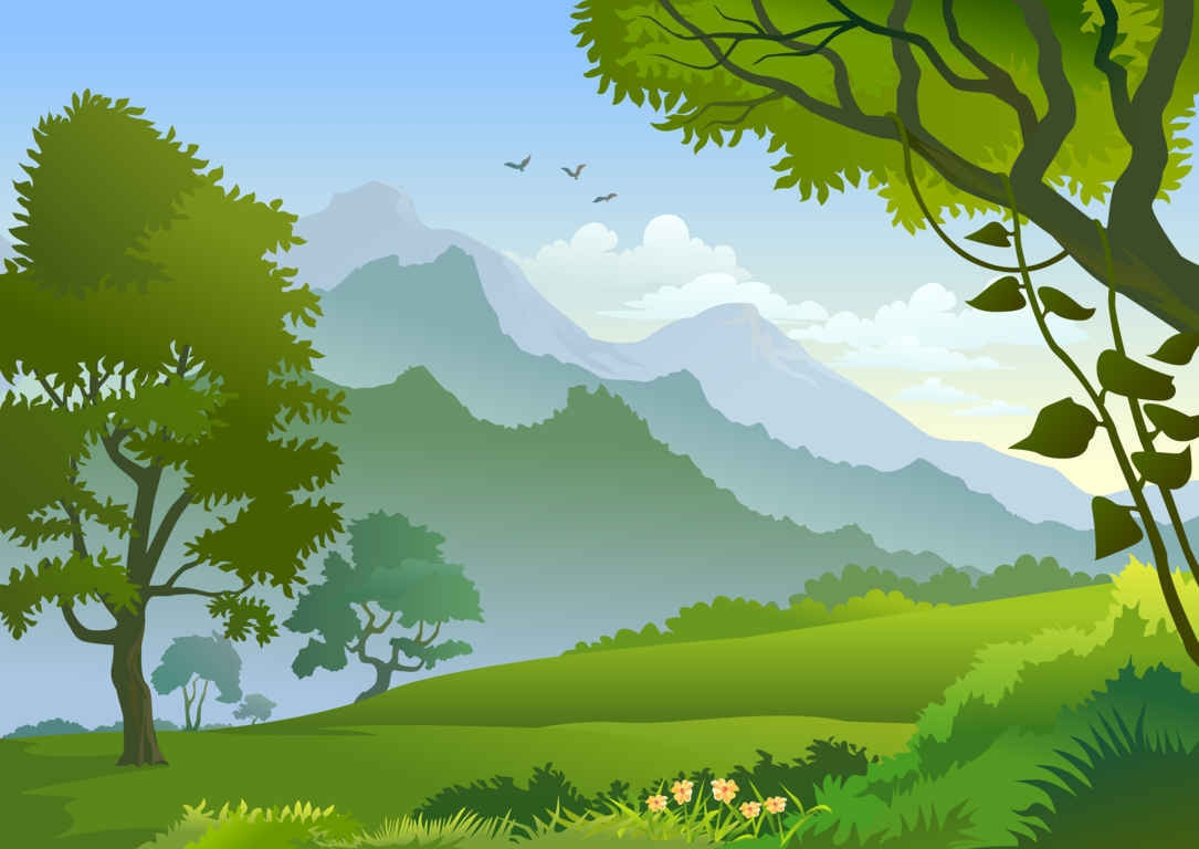Landscape clipart #19, Download drawings