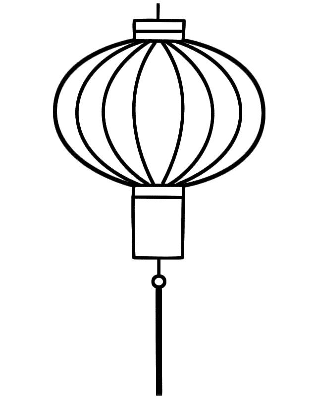 Lantern coloring #18, Download drawings