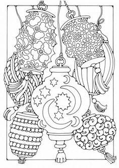 Lantern coloring #6, Download drawings