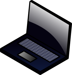 Laptop clipart #1, Download drawings