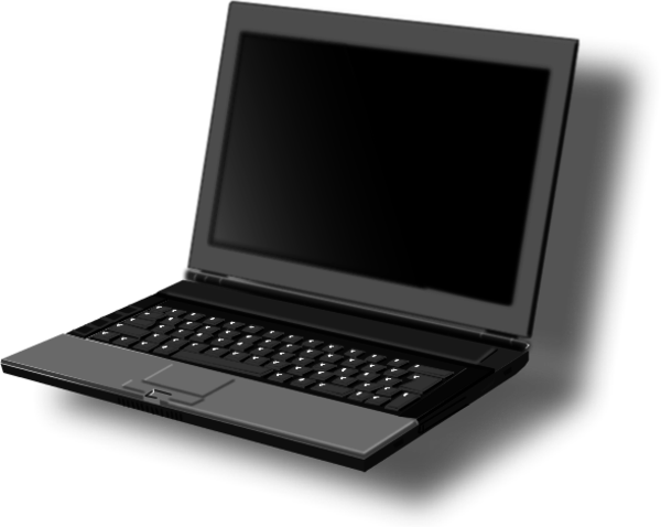 Laptop clipart #3, Download drawings