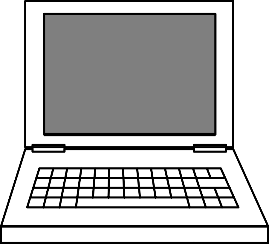 Laptop clipart #20, Download drawings