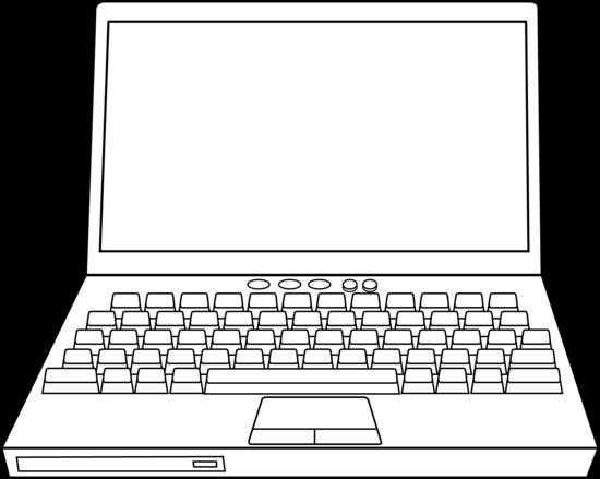 Laptop coloring #10, Download drawings