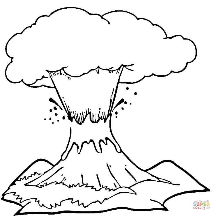 Lava coloring #12, Download drawings